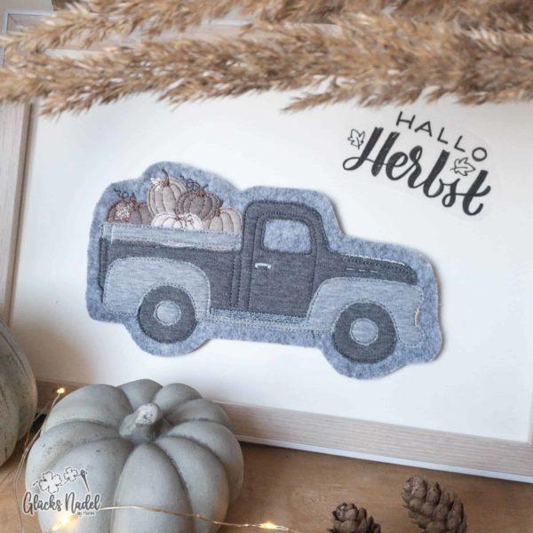 Kürbis Pick-up Truck